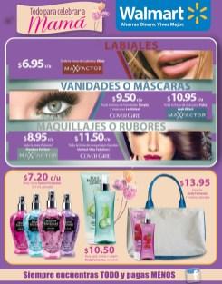 MAKE UP rubores vanidades mascaras OFERTAS walmart - 10may14
