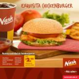 Nash exquisita Chicken burguer
