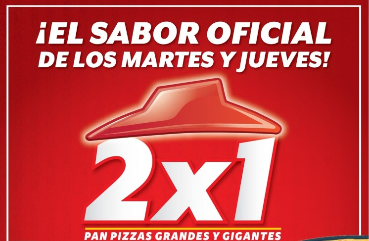 PIZZA HUT el salvador promociones 27may14