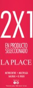 PROMOTION 2x1 selectd product LAPLACE - 21may14