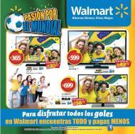 Pasion por el mundial WALMART disfruta todos los GOLES
