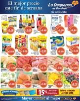 Prepara tus compras de fin de semana Despensa de Don Juan - 02may14