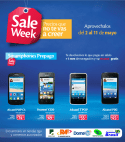 SALE WEEK smartphone Tigo el salvador - 02may14