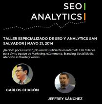 SEO Analytics Taller especializado SAN SALVADOR 2014
