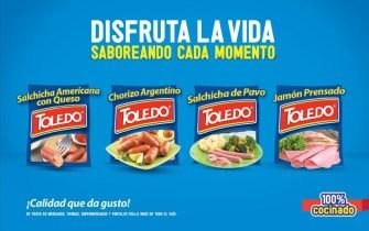Salchicha americana con queso TOLEDO embutidos - 16may14