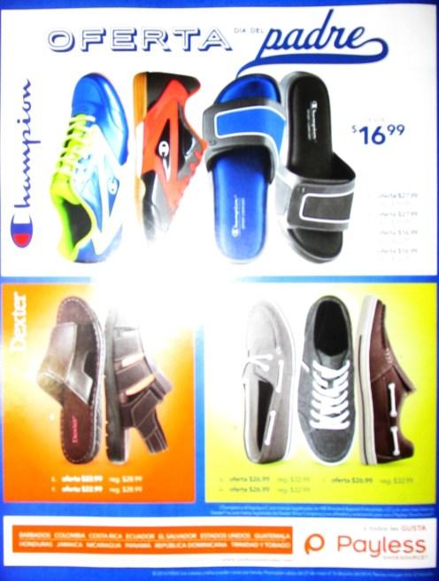 calzado deportivo casual OFERTAS dia del PADRE payless el salvador
