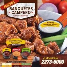 nuevos salsas y aderezos POLLO CAMPERO bbq buffalo oriental