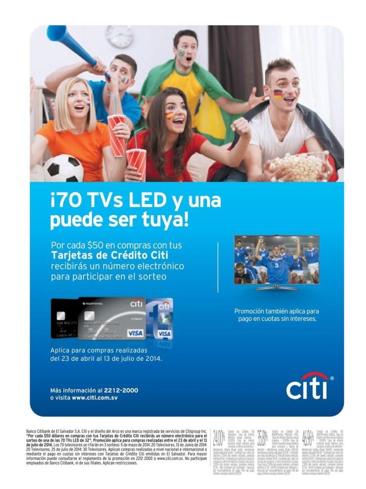 70 pantallas LED TV y una puede ser tuya