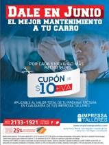 CUPON gracias impresa talleres JUNIO