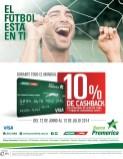 Descuento cashback banco promerica en gasolineras - 23jun14