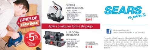 Discounts CRAFTSMAN tools electric SEARS - 02jun14