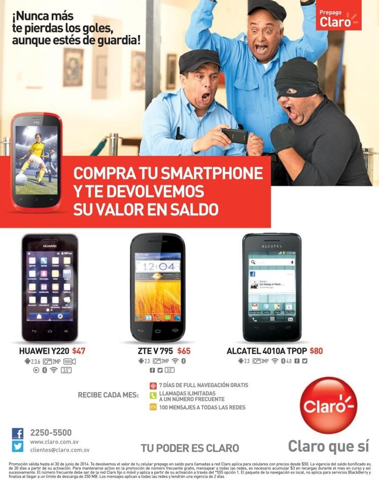 El precio de smartphone en SALDO - 05jun14