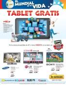 LA CURACAO te regala gratis una TABLET ultra digital - 04jun14