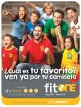 La camiseta de equipo favorito BRASIL 2014