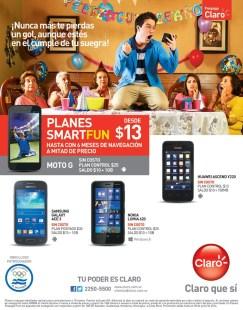 Noki lumia 620 ofertas CLARO el salvador - 19jun14