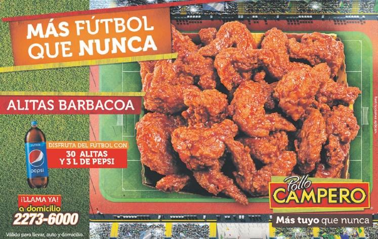Pollo campero promociones para ver el futbol mundial