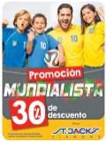 Promocion mundialista BRASIL 2014 camiseta st jacks - 23jun14