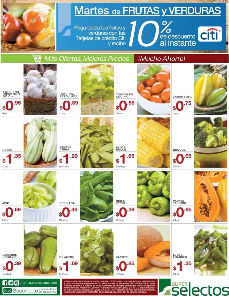 SUPER SELECTOS descuentos y ofertas martes - 10jun14