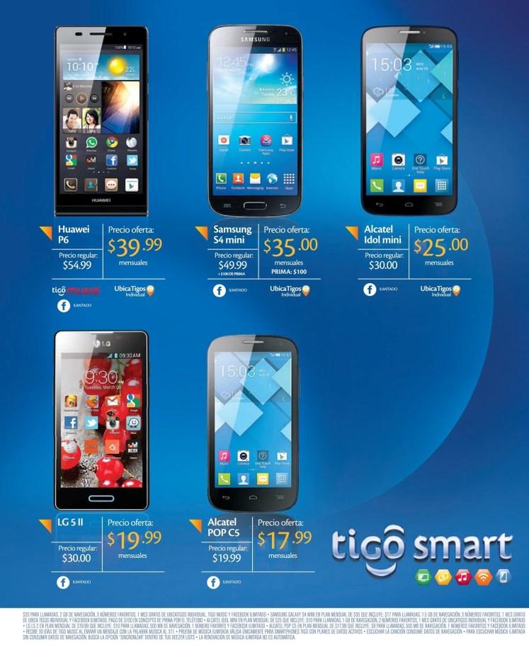 TIGO smart phone OFERTAS por tiempo limitado - 11jun14