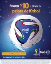 Te gustaria ganar un balon de la FIFA world cup 2014