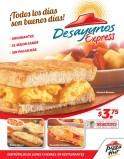 Todos los dias DESAYUNOS EXPRESS pizza hut - 23jun14