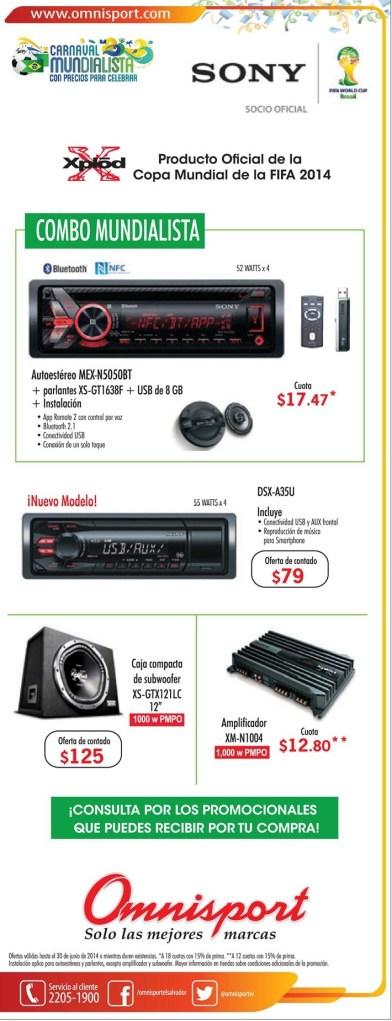 Tu auto necesita un stereo sony - 21jun14