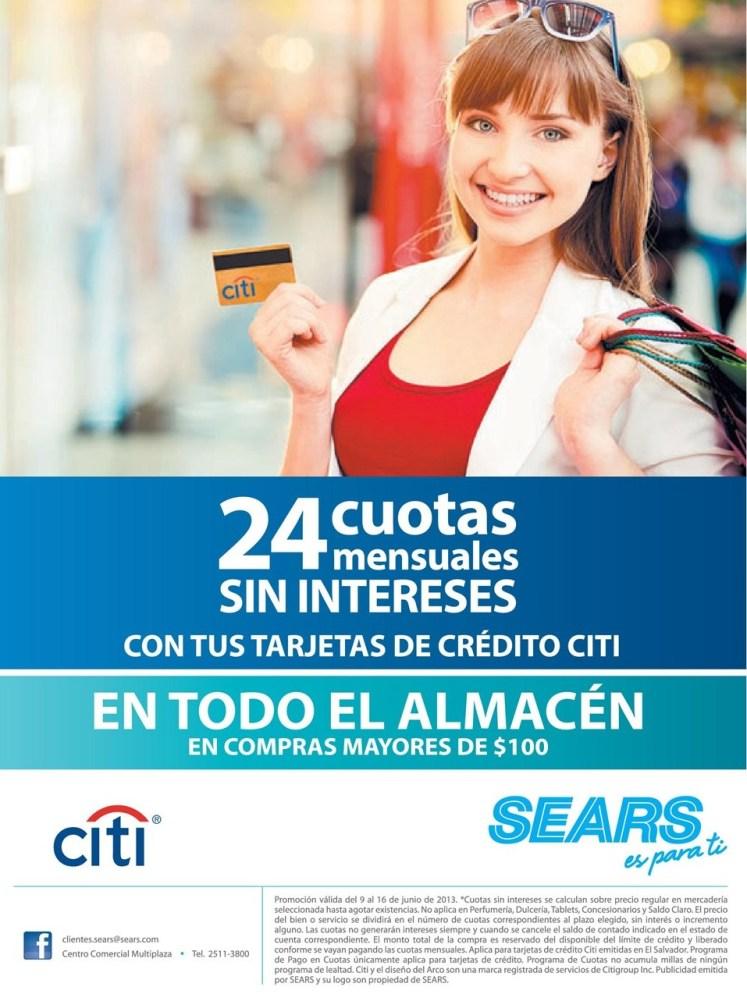 Tus compras tienen beneficios de pago SEARS - 06jun14