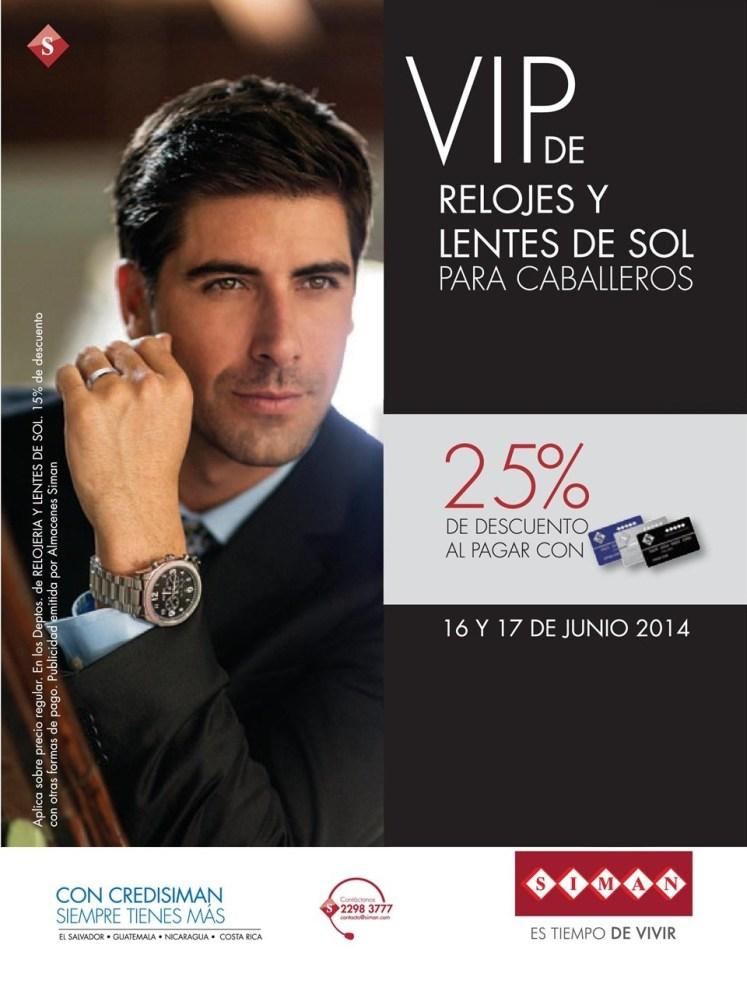 VIP discounts relojes y lentes del sol - 16jun14