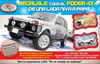 Vehiculos 4x4 para PAPA