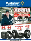 promocion CarroMania WALMART tires FIRESTONE - 27jun14