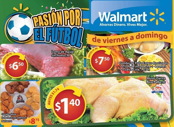 vive la pasion mundial brasil 2014 en WALMART - 21jun14