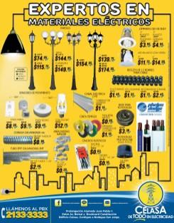 Expertos en materiales electricos ilumina tu hogar CELASA promociones - 07jul14