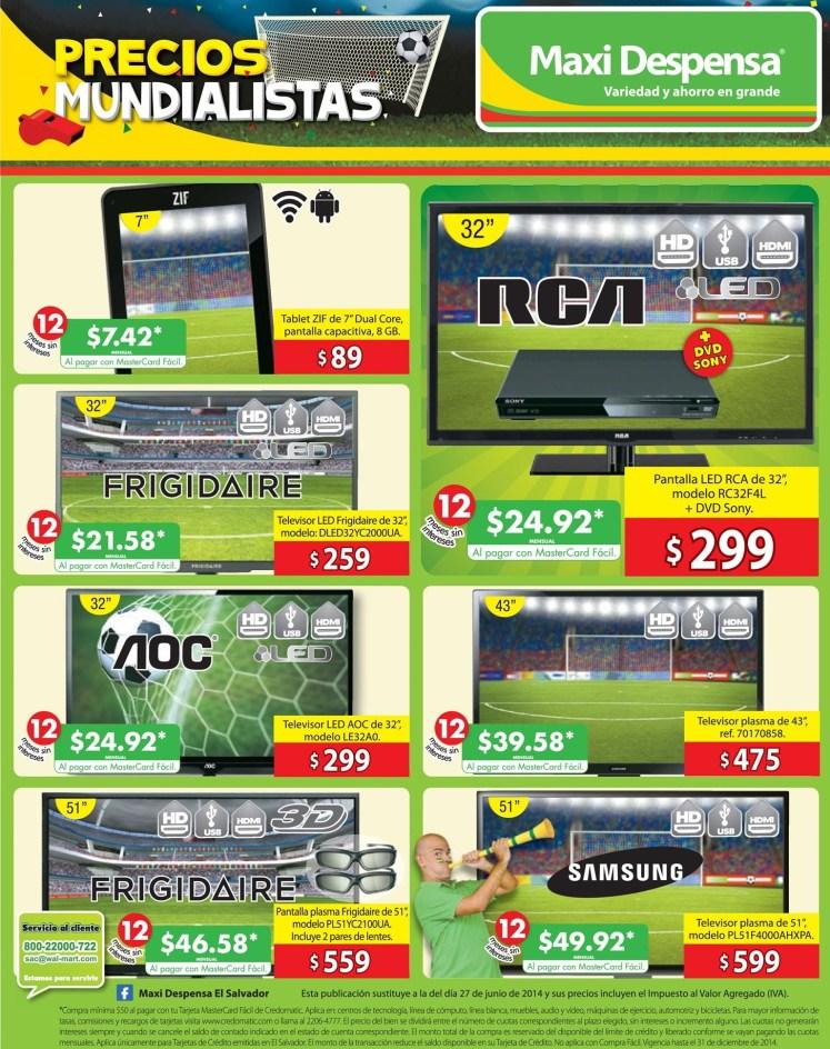Ofertas Maxi Despensa precios mundialistas - 04jul14