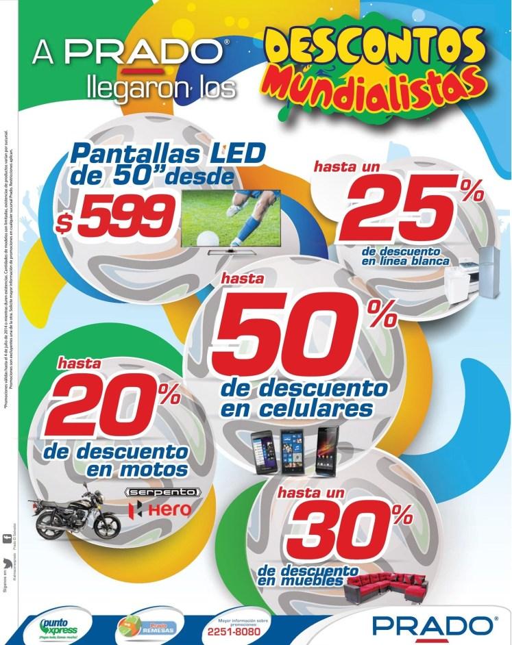 PRADO ofertas pantalla LED 50 pulgadas - 02jul14