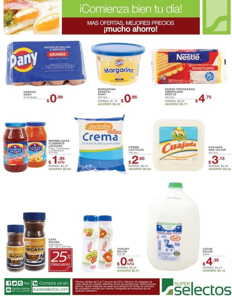 complemento perfecto para tu desayuno SELECTOS ofertas - 05jul14
