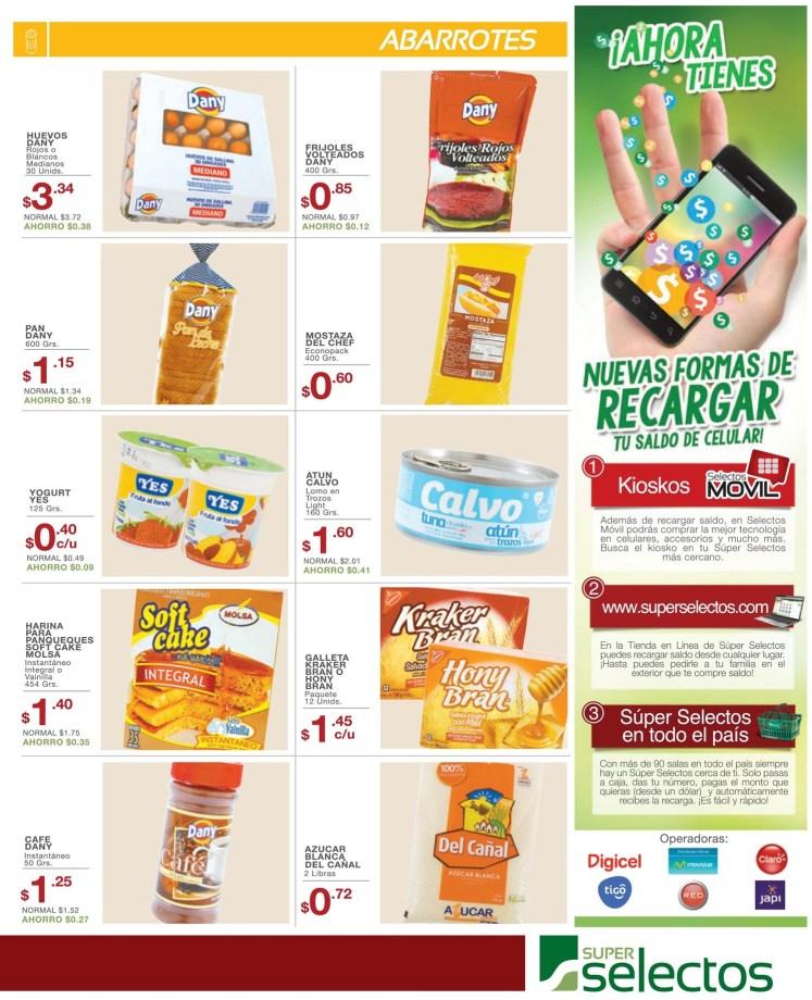 pan leche cafe cereal queso BASICOS super selectos ofertas - 04jul14