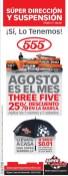 Agosto es el mes THREE FIVE disocunts - 08ago14