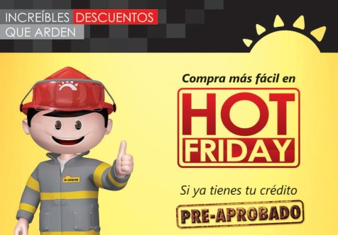 DESTCADO promociones la curacao hot friday 2014