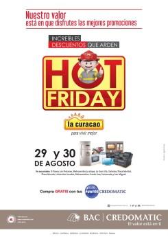 Disfrua de la mejores PROMOCIONES hot friday con BAC CREDOMATIC - 28ago14