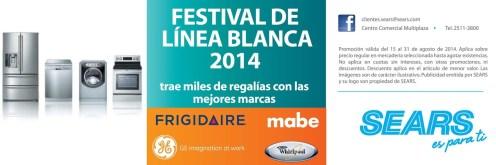 FEstival de Linea Blanca SEARS frigidaire mabe GE - 23ago14