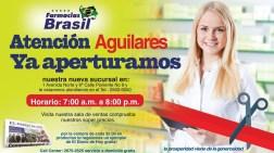 Farmacias BRASIL apertura sucursal aguilares - 23ago14