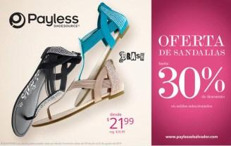 Payless ofertas SANDALIAS BRASH para dama - 08ago14