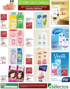 Productos P&G gillete secret pantenne - 23ago14