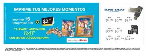 Promotion PRINT your photos Kiosko Digital KODAK - 08ago14