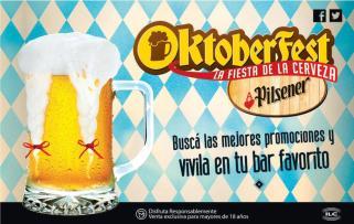 Busca las promociones OKTOBERFEST by pilsener