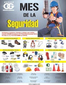 Equipos accesorios normas para la seguridad ocupacional - 29sep14