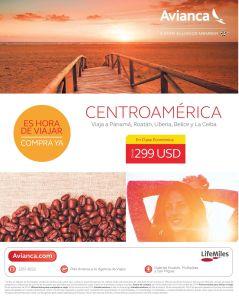 Es hora de viajar a centroamerica OFERTAS vuelos avianca - 25sep14