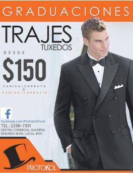 GRADUATION trajes tuxteo OFERTAS - 30sep14
