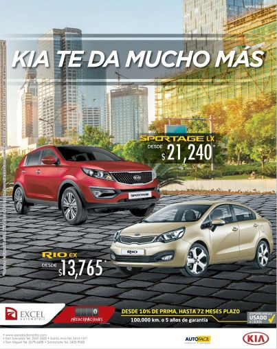 KIA Rio EX auto savings sedan luory - 25sep14