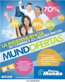 La independencia de compras buenos precios PLAZA MUNDO - 12sep14
